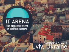 Lviv IT Arena Conference 02-10-2014 Стадіон «Арена Львів» 1 Lviv